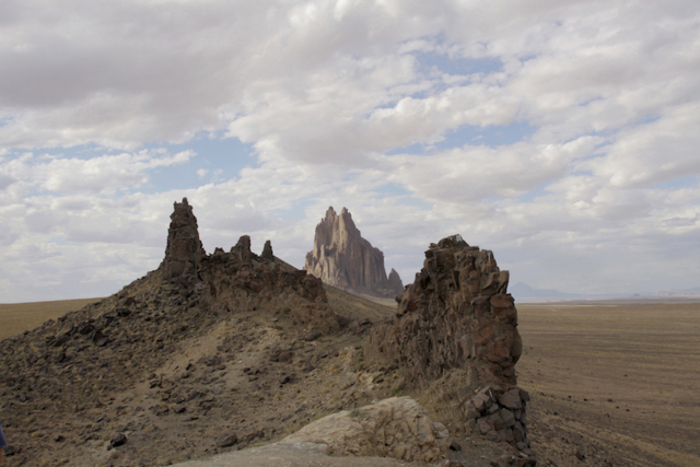 Shiprock South Face, Pat Berrett