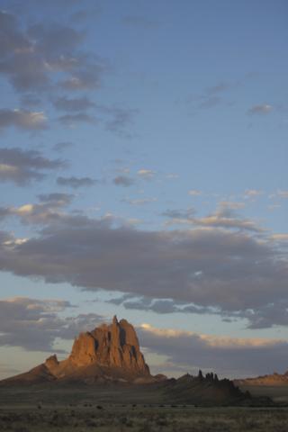Shiprock West Face, Pat Berrett