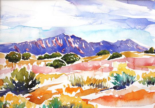 Blue Sandias, David Welch