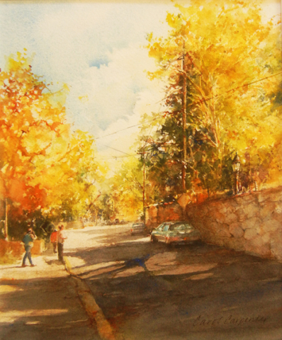 Canyon Road in Fall, Carol Carpenter