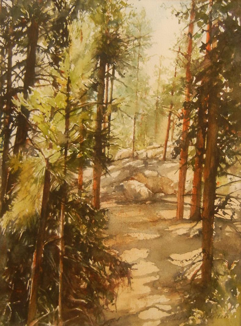 Jemez Trees, Carol Carpenter