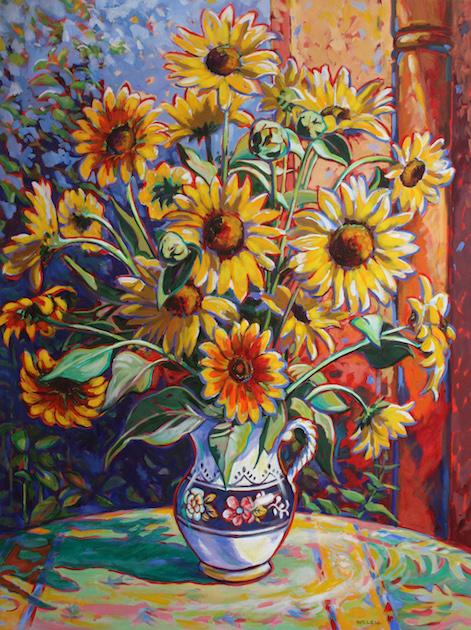 Sunflowers, David Welch