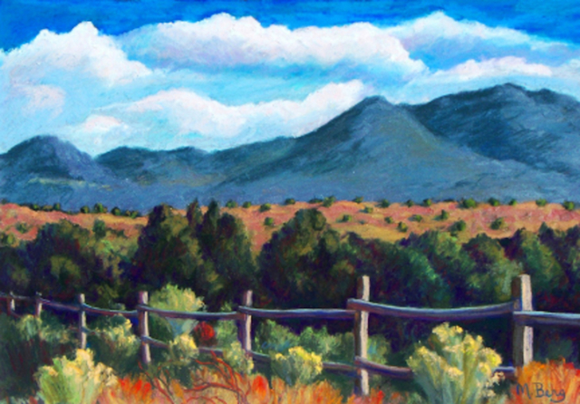 East of Cerrillos, Marian Berg
