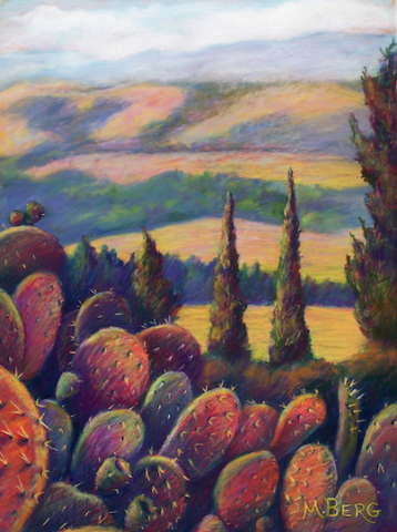 Flaming Cacti, Marian Berg