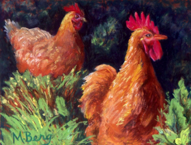 Gallos Pacíficos, Marian Berg