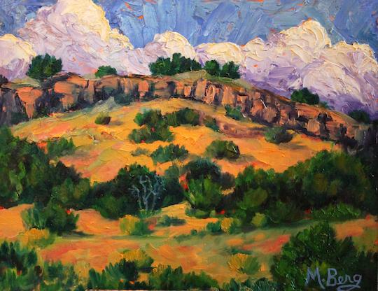 Approaching Storm Cerrillos, Marian Berg