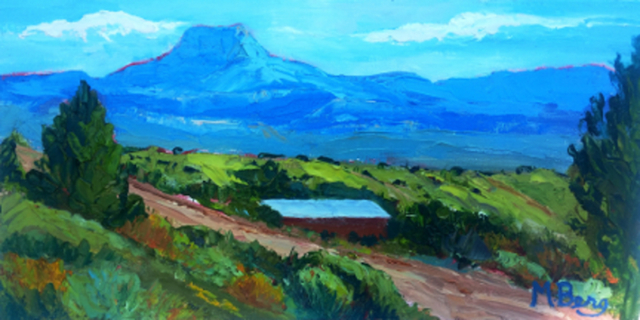 Pedernal Ghost Ranch, Marian Berg