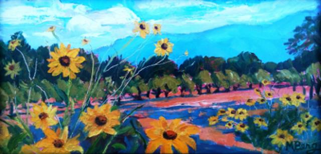 Milagro Sunflowers, Marian Berg