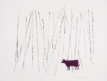 Janet Shagam: Purple Cow
