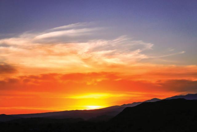 Marilyn Ortega, Espanola Valley Sunrise