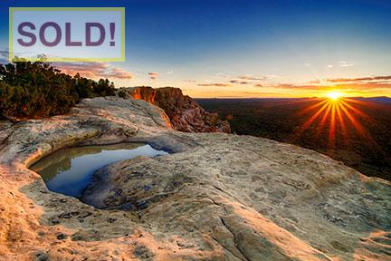 Scott McCormick: Malpais Sunset - SOLD!