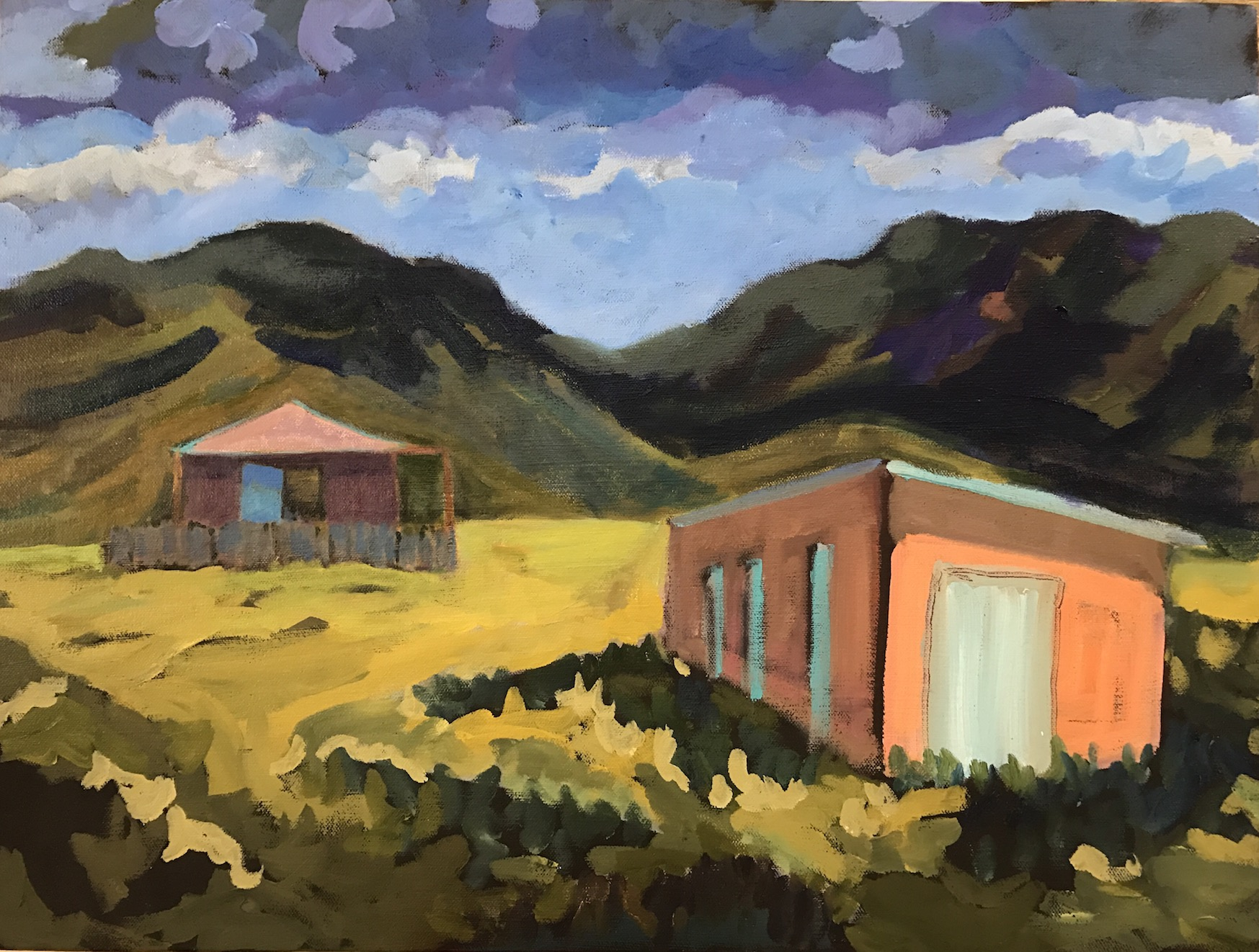 Risa Taylor, Old Taos Buildings