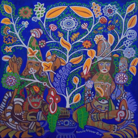Denise Weaver-Ross: Yaksha-Yakshi II