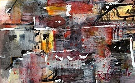 Roger DiCamillo: Untitled - Mixed Media
