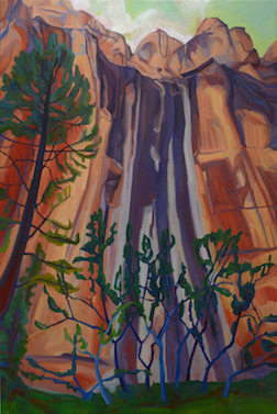 Alice Webb: Ancient Waterfall at Inscription Rock