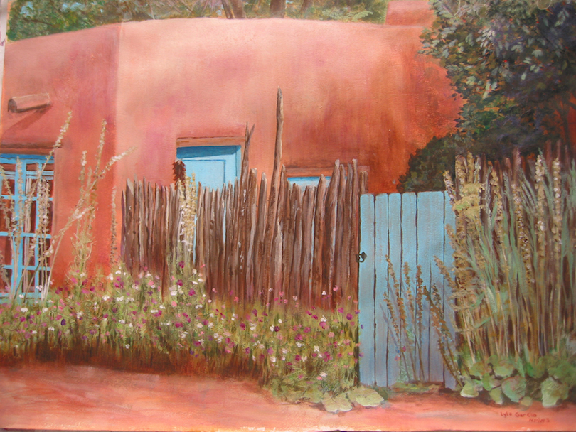 Lyla Garcia: Blue Gate