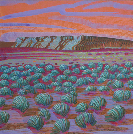 Carol Chamberland: CDT Sunset #3