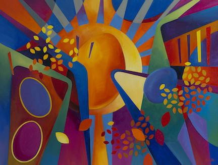 Alice Webb: Canyon Sunrise