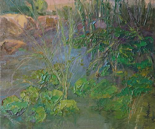 Carla Forrest: Corrales Water Lilly Garden