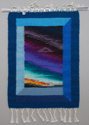 Donna Loraine Contractor: Blue Dimensional Window