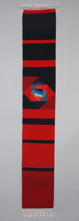 Donna Loraine Contractor: Red to Black, Straight Line Spiral Skinny