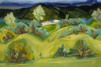Alice Webb: Early Spring North of Taos