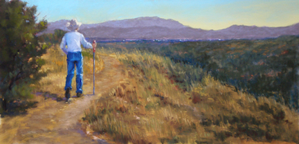 Marilyn Drake: Golden Hiking