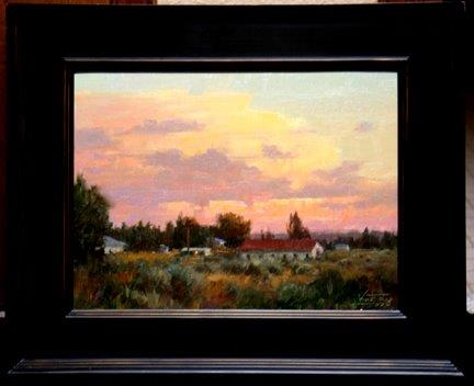 Robert Kuester: Homestead Dusk