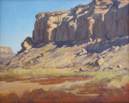 Lee McVey: Chaco Canyon Shadows