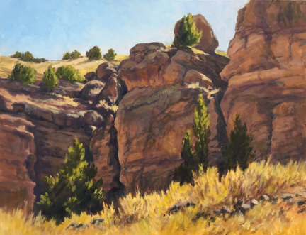 Lee McVey: San Lorenzo Canyon