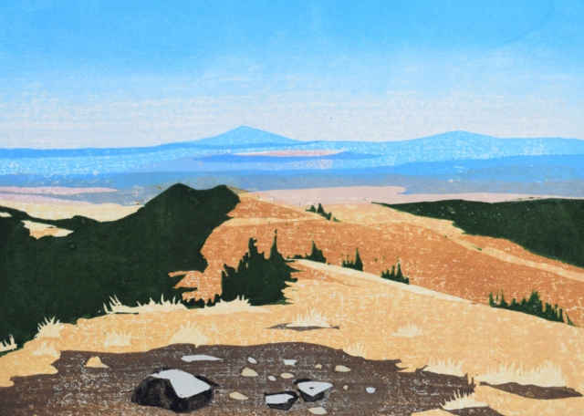 Mary Sweet: Mt. Taylor No. 32, October on the Summit
