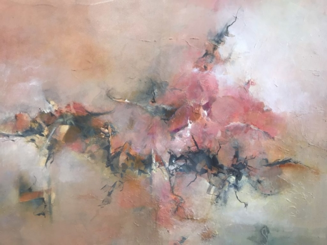 Dianna Shomaker: Azaleas Along a Wall