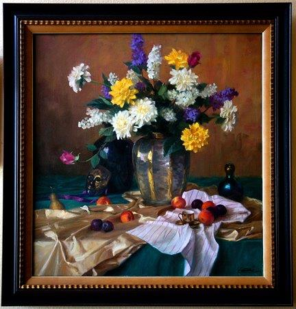Robert Kuester: Still Life with Gold Mask