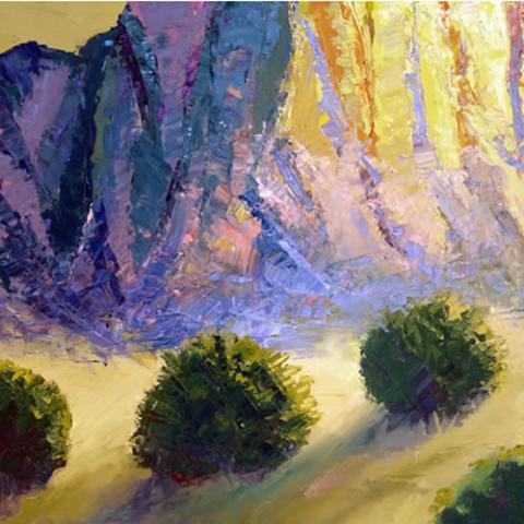 Carla Forrest: Upper Mesa (Studio)