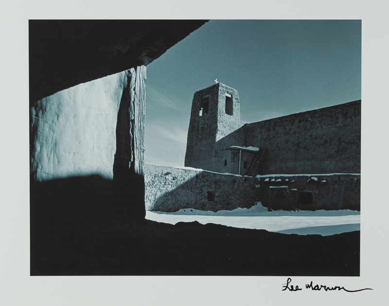 Lee Marmon: Acoma Mission Rooftop
