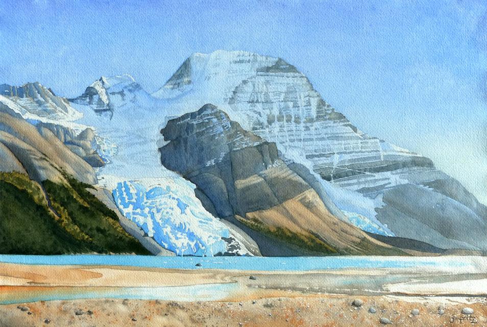 Jane Fritz: Berg Glacier