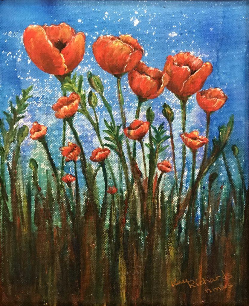 Kay Richards: Bloomin' Poppies