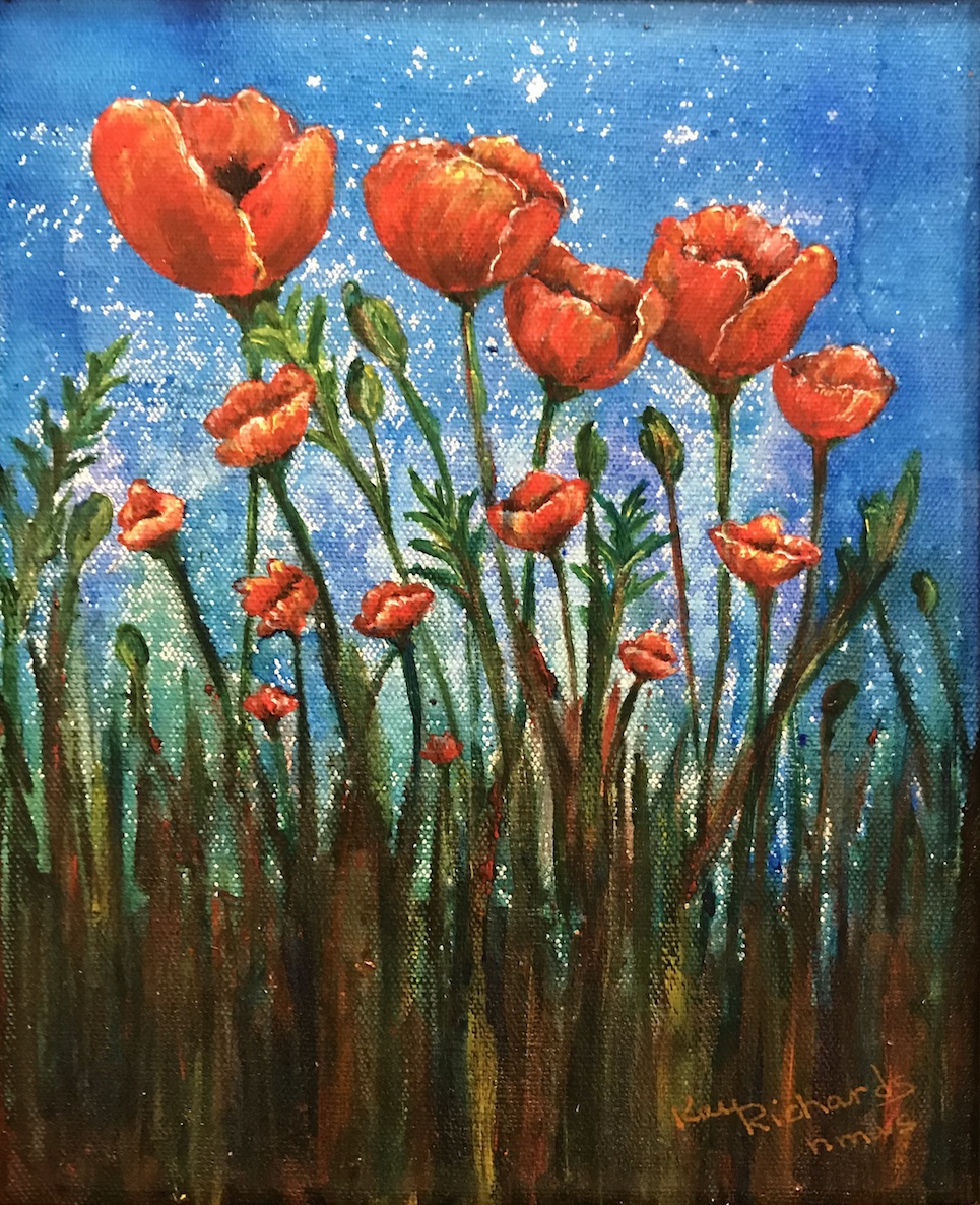 Bloomin Poppies