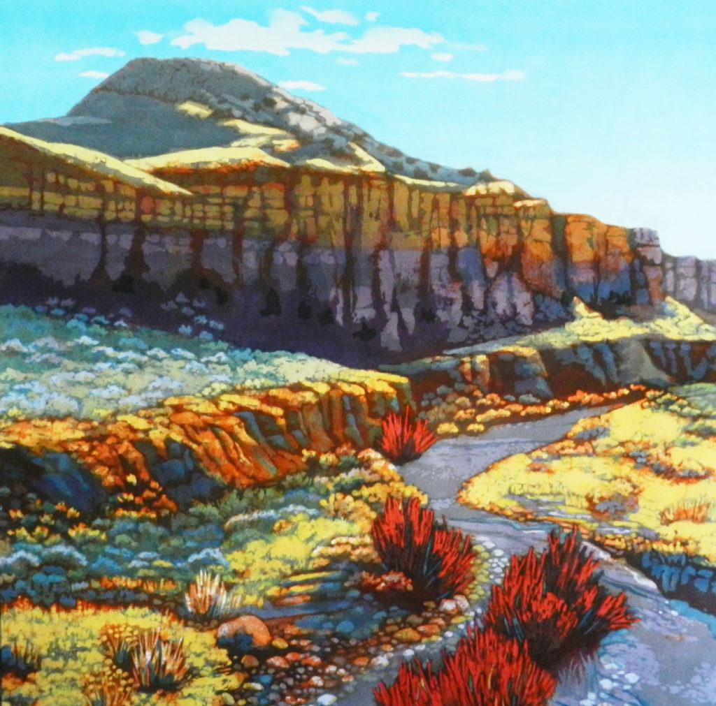 Cathy Haight: Canyon Encantado II