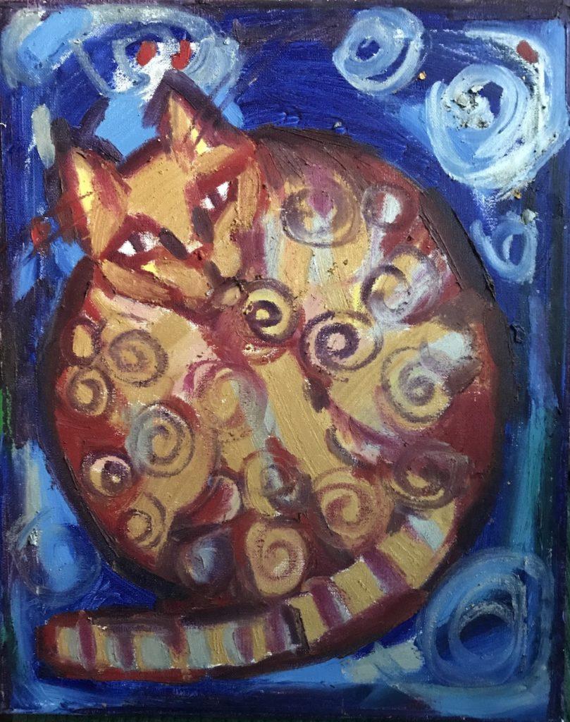 Gala Yershevich: Cat
