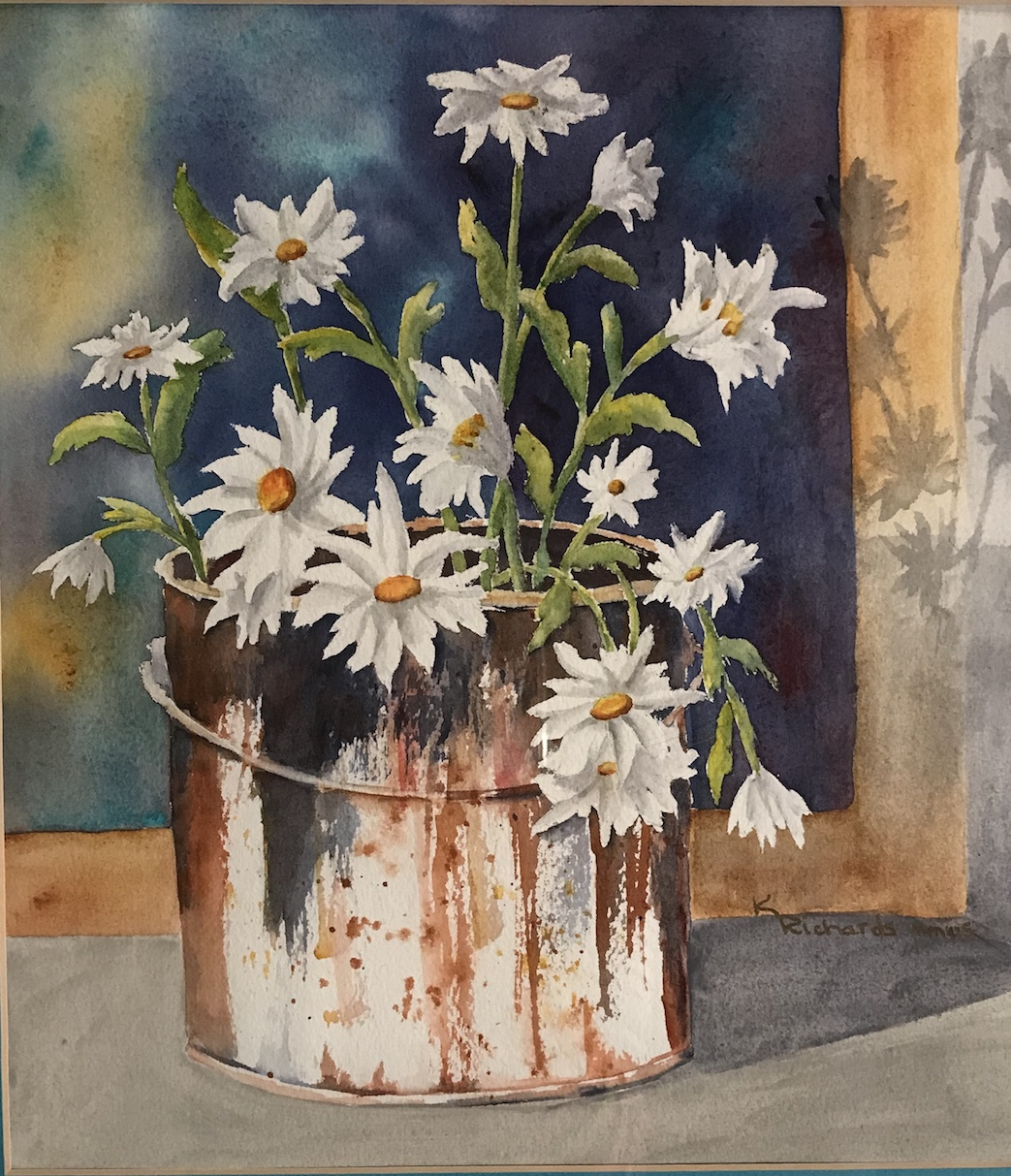 Kay Richards: Daisies in the Window