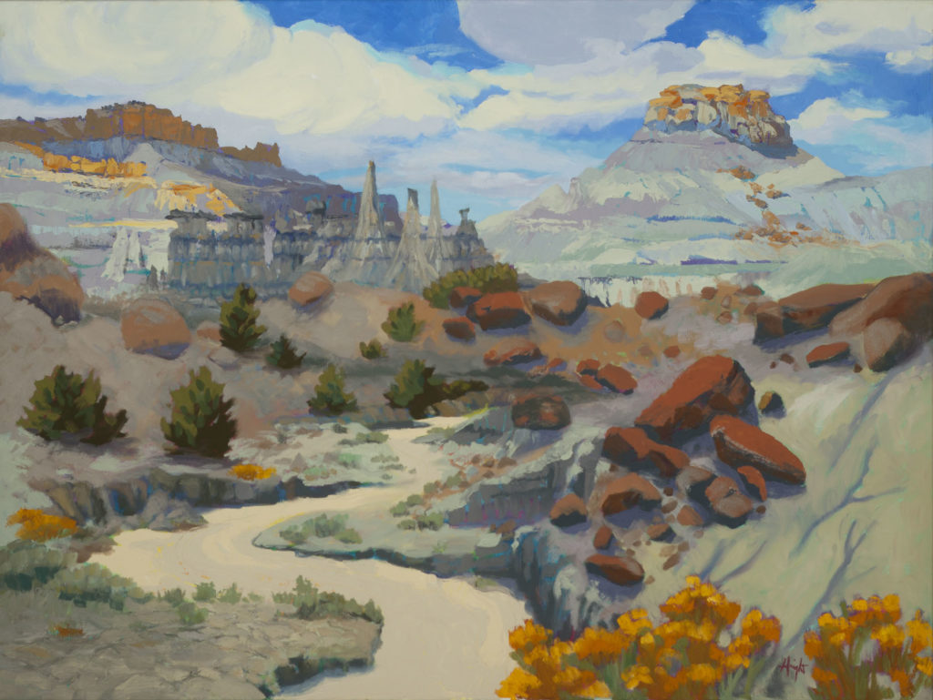 Cathy Haight: Hiking in the Lybrook Badlands