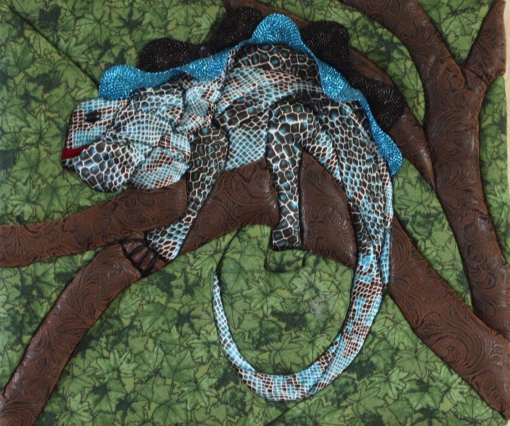 E. Cristina Diaz-Arntzen: Iguana