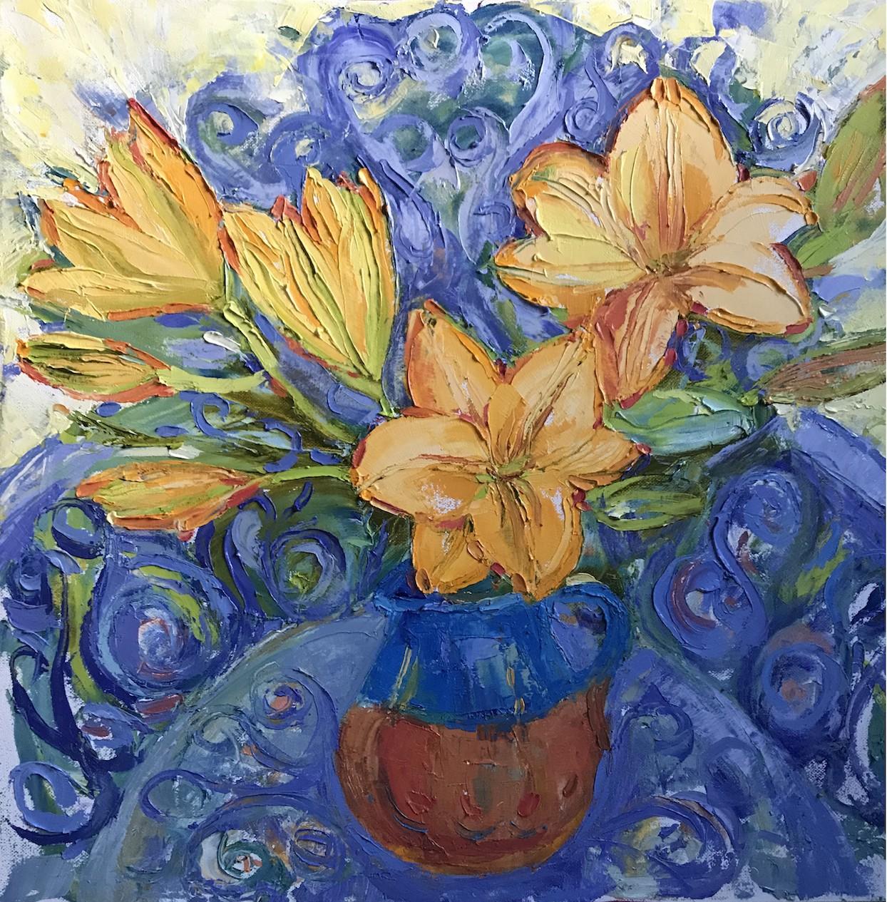 Gala Yershevich: Orange Lilies