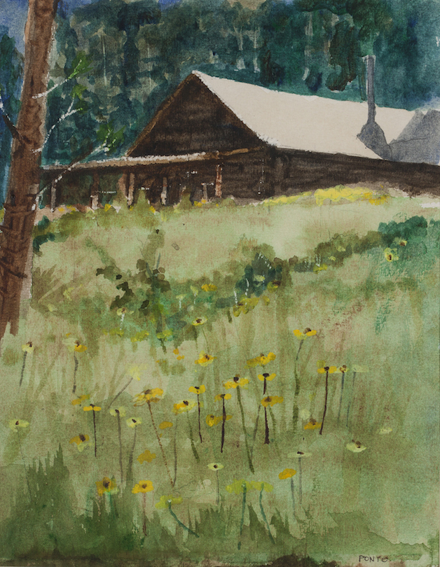 Robert Ponto: Guest House at Tent Rock