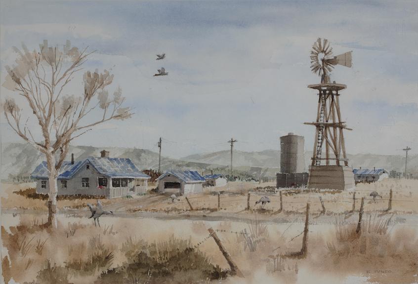 Robert Ponto: NM Ranch House