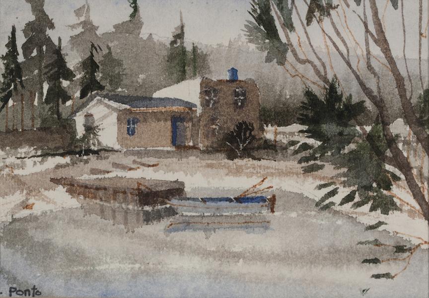 Robert Ponto: Lake House at Blue Water