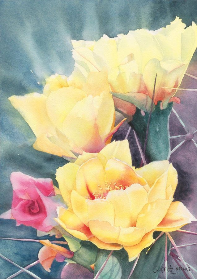 Jane Fritz: Prickly Pear 1