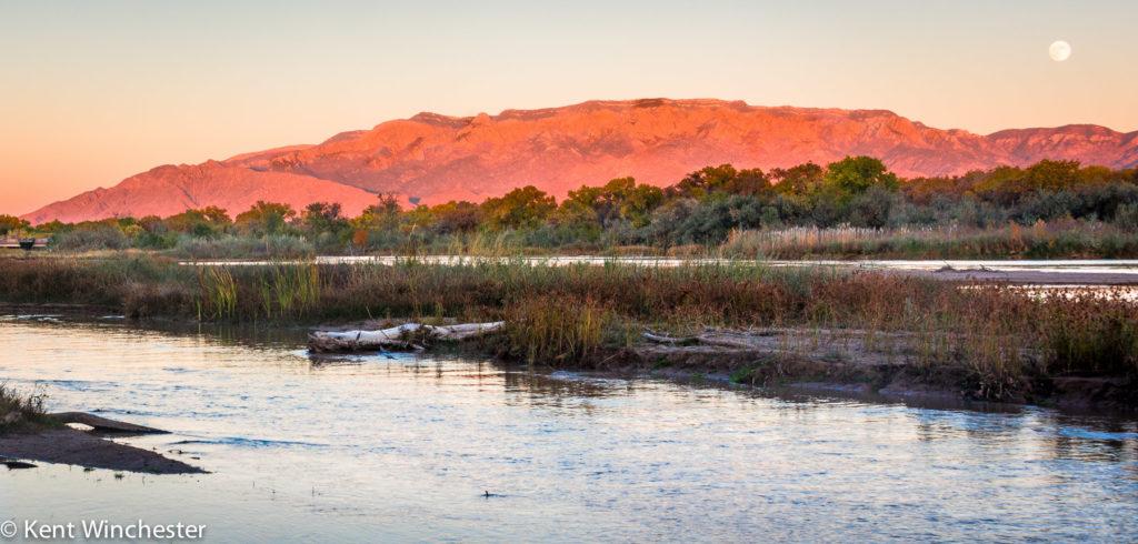 Kent Winchester: Rio Grande Sunset