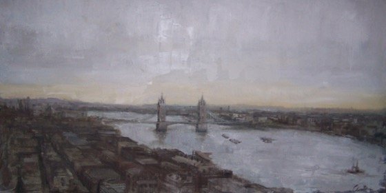 Gloria Blinn: River Thames